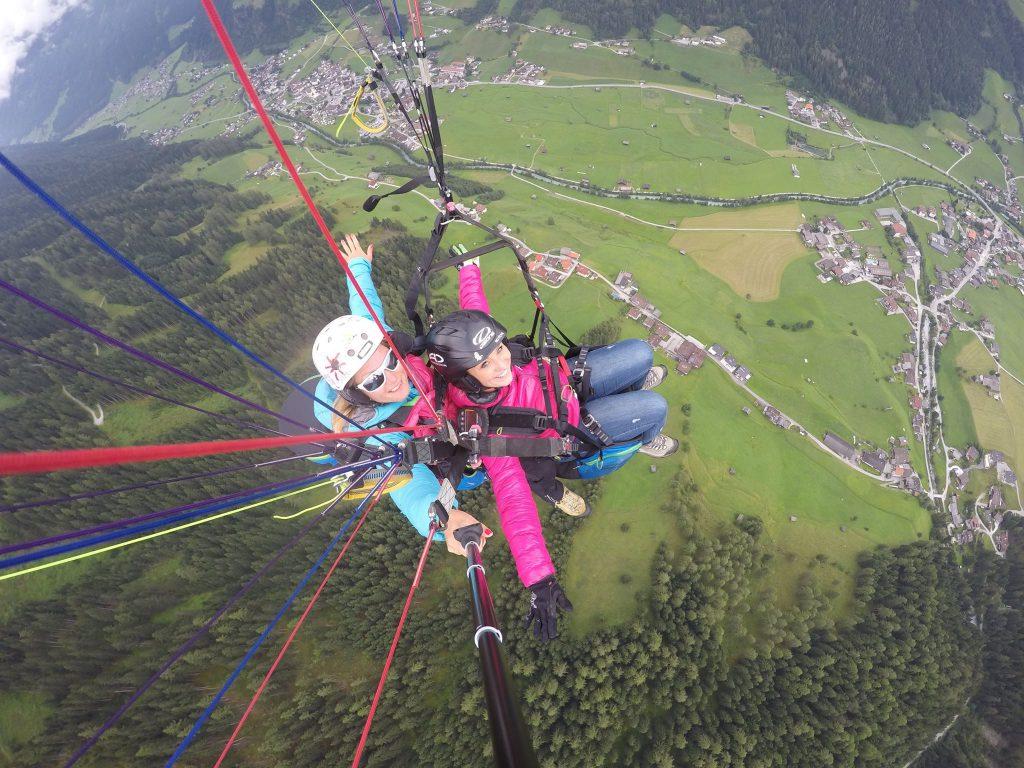 Parafly Gutschein Gleitschirmfliegen